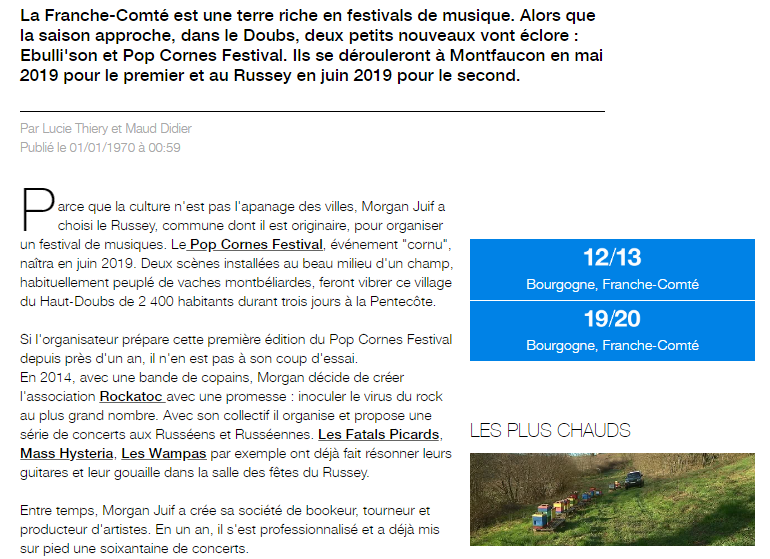 Pleinair-presse-pop-cornes-festival-revue-concert-france-3-bourgogne-franche-comtà